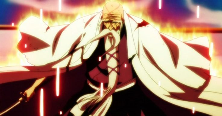 Shigekuni Yamamoto – #Bleach Es el comandante general, el maximo líder del Gotei 13 como también capitán de la primera división, es considerado el shinigami más poderosos y experimentado de toda la sociedad de almas habiendo nacido hace más de 1000 años