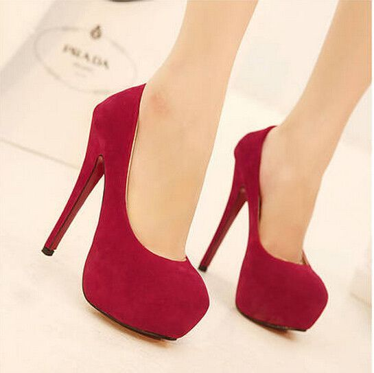 Fashion waterproof Stiletto high heels