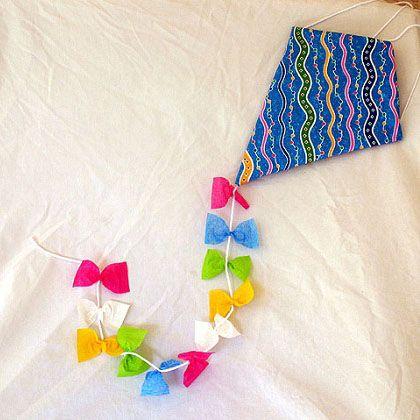 Springtime mickey bark recipe crafts kites and ceilings for Decoration kite