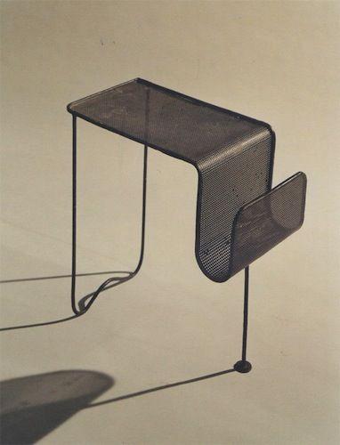 Mathieu Mátegot, Table, 1950s