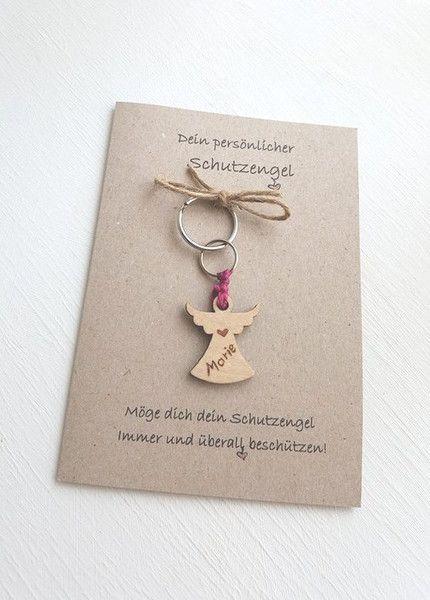 Einen Schutzengel kann jeder gut gebrauchen. Deshalb eignet sich diese persönliche Karte für alle möglichen Gelegenheiten: Geburtstag - Glückwunsch zum Führerschein - Mitbringsel - Hochzeit -...