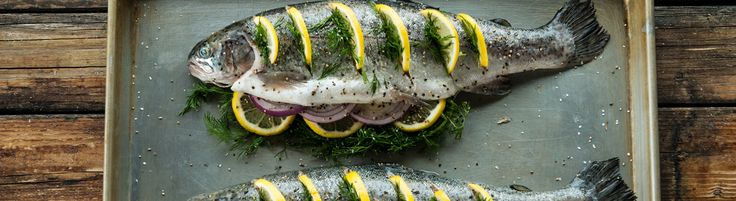 Traeger Baked Rainbow Trout
