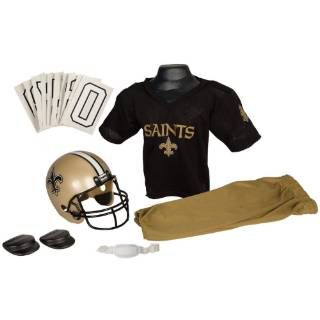 Check out the Franklin Sports 15701F08P1Z NFL Saints Medium Uniform Set