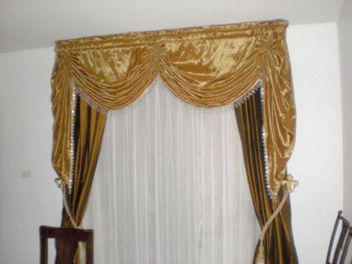 1000 images about scarcega dise o de cortinas cl sicas for Cortinas clasicas elegantes