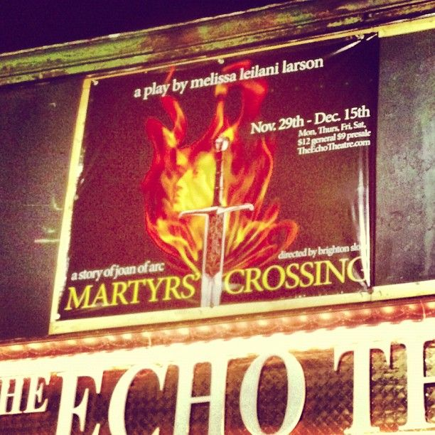 Do you have your tickets yet? #MartyrsCrossing
