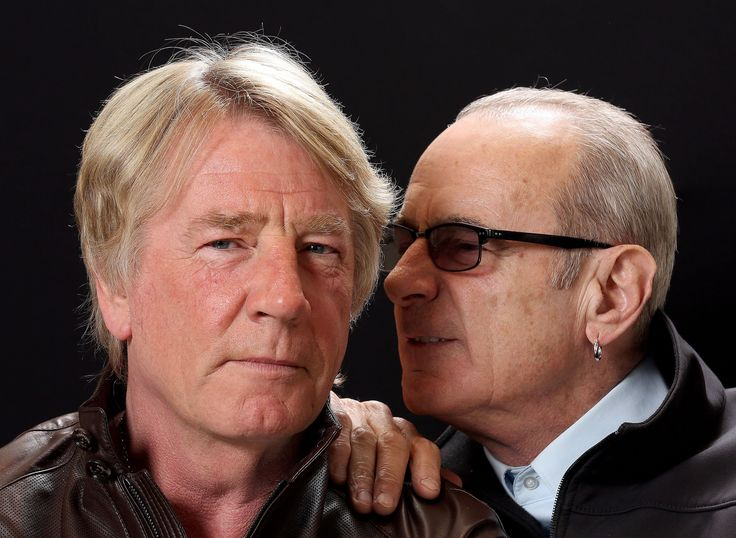 Rick Parfitt and Francis Rossi in May 2013