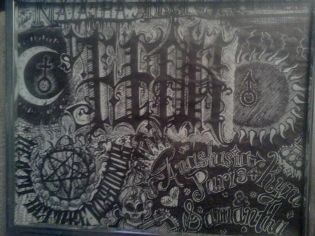 ambigram for fear and hope. rip natasha montgomery and andrew mcadam