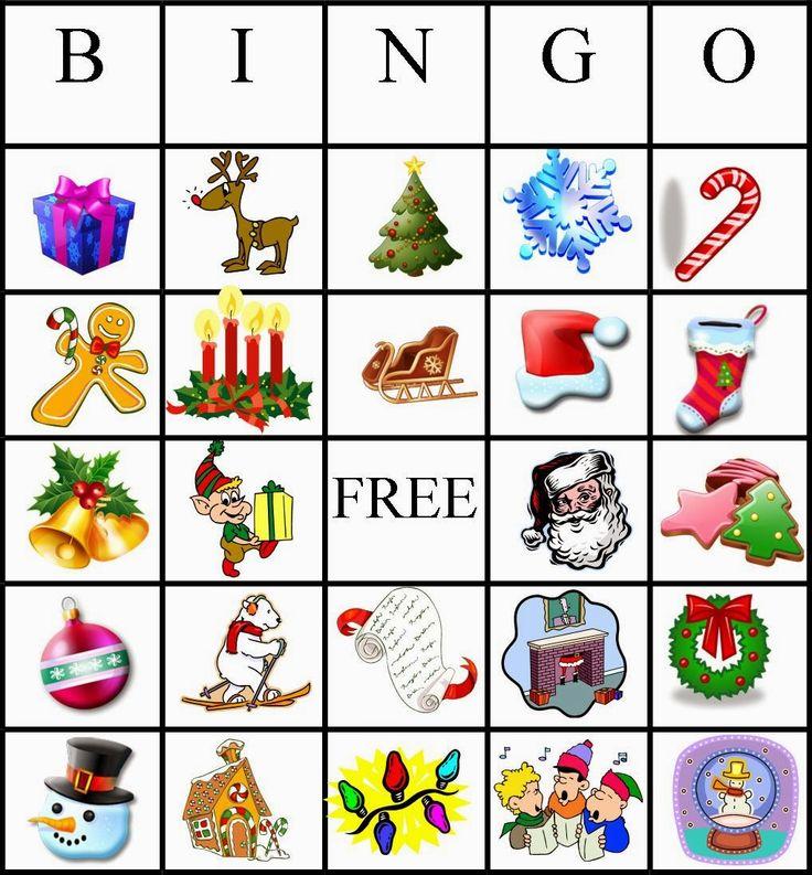 Christmas Bingo Custom bingo cards, Christmas bingo
