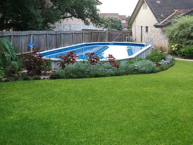 101 best images about pool landscapes on pinterest pool - Nice above ground pools ...