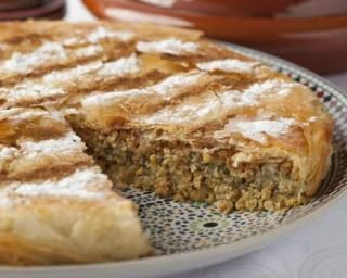 Pastilla marocaine à la viande maigre hachée                                                                                                                                                                                 Plus