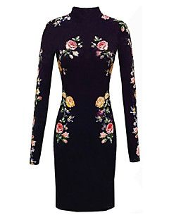 Monta Western Styles Fashion Printing Dress With High Collar. Get unbeatable discounts up to 80% Off at Light in the box using Coupons.