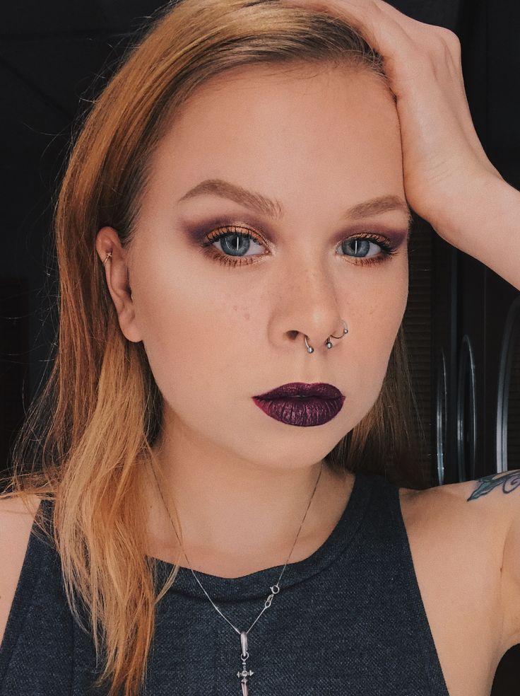 Copper Smokey Eyes Early Fall Makeup Look: Best 25+ Purple Smokey Eye Ideas On Pinterest