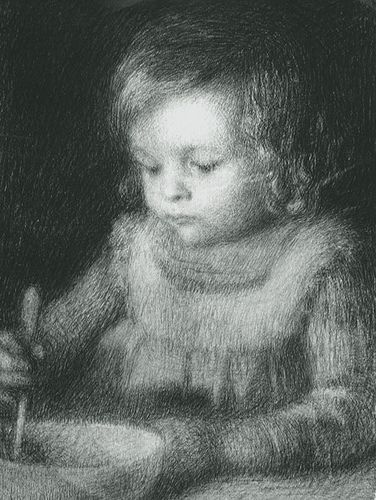 Henri Le Sidaner - Child - by deflam, via Flickr