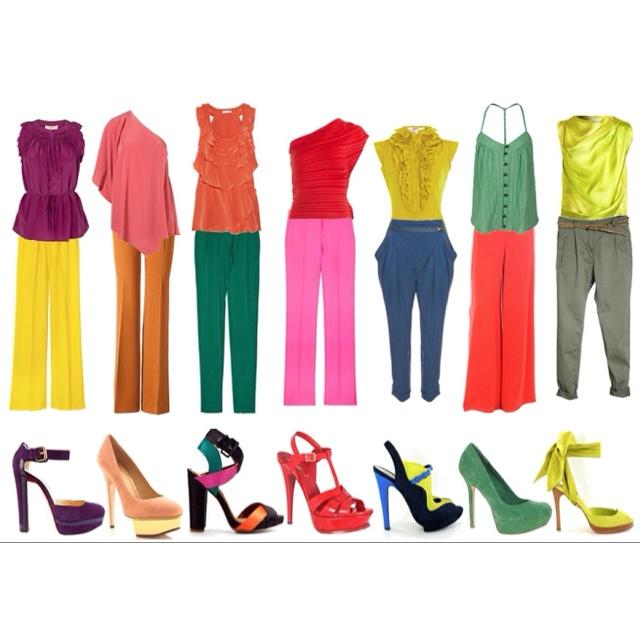 : Colores Moda Primavera-Verano 2012