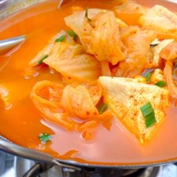 soup with tofu and spinach tonight kimchi hangover recipes kimchi soup ...
