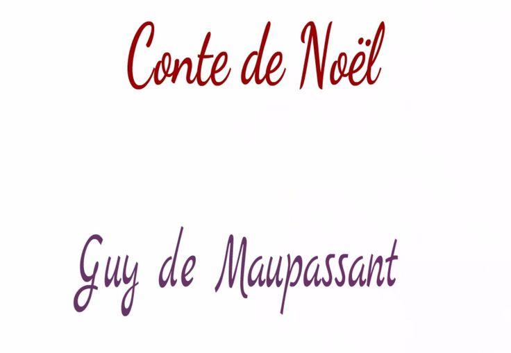Livre audio : Conte de Noël, Guy de Maupassant