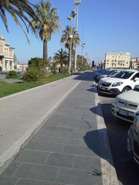 Path bike Viareggio