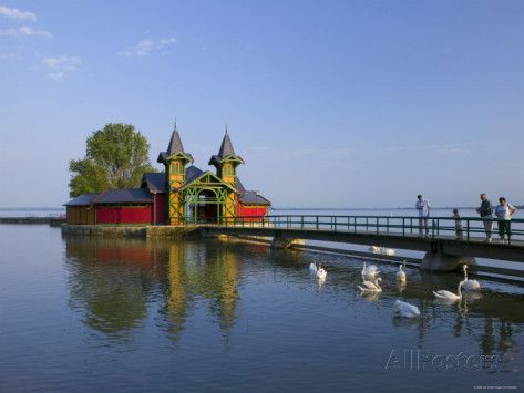 keszthely | Keszthely, Lake Balaton, Hungary Photographic Print by Walter Bibikow ...
