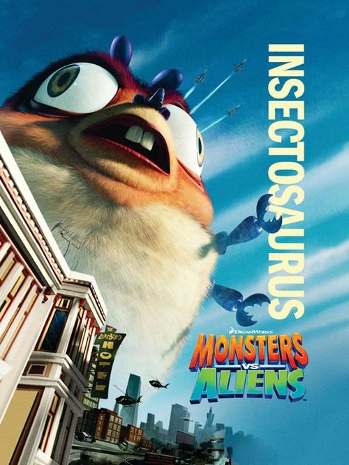 Insectosaurus. Monsters vs Aliens