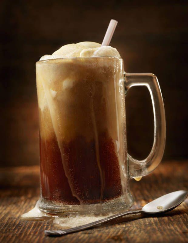 Our favorite root beer float recipe!