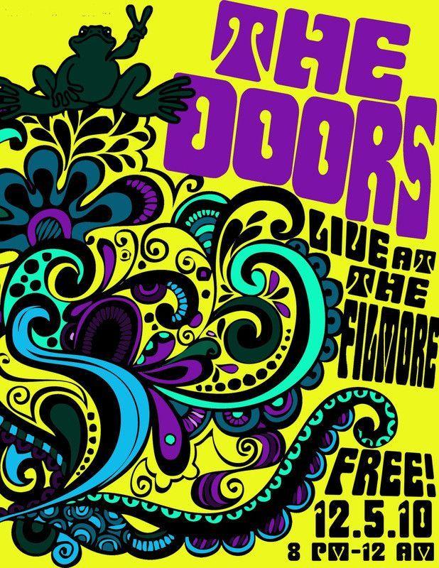 The Doors - Live at the Filmore - Mini Print