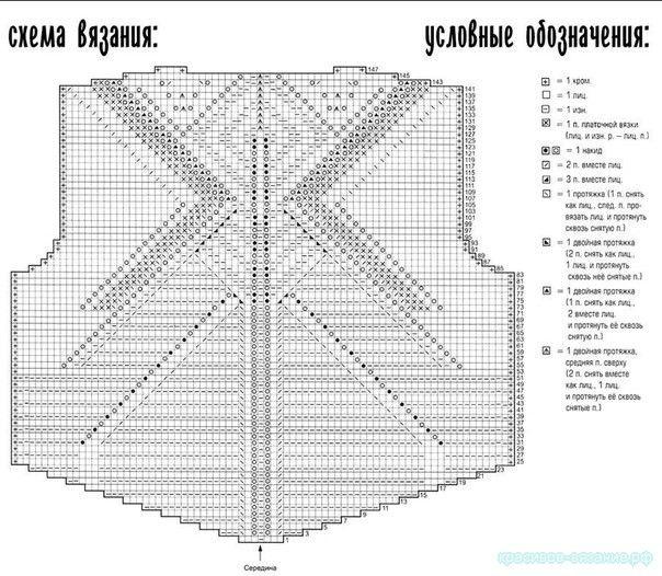 Размеры: 42/44 Вам потребуется: 500 г серо-коричневой пряжи Lana Grossa Bamboo (100% вискозы, 100 м/50 г); спицы № 5 и № 5,5, круговые спицы № 5. Техника вязания: Резинка 1х1: поперем...
