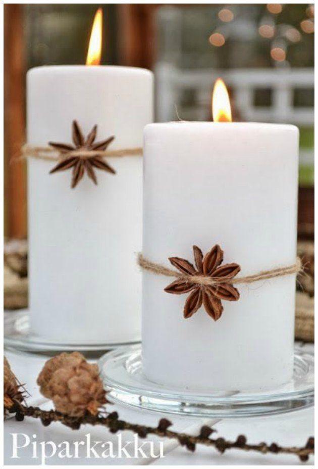 Jeg har her fundet en række idéer på enkelt julepynt – der kan laves hurtigt og – ud af ting du let kan få fat i … Jeg vil kalde stilen for nordisk eller skandinavisk. Minimalistisk og enkelt. Lavet a