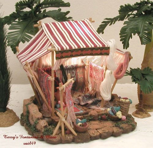 FONTANINI-ITALY-2-5-WEAVERS-SHOP-NATIVITY-VILLAGE-BUILDING-50235-MIB