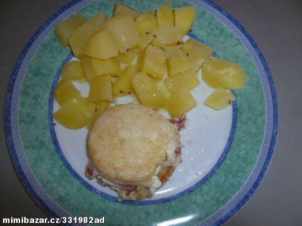 Smažený sýr bez smažení - nikdy nevyteče