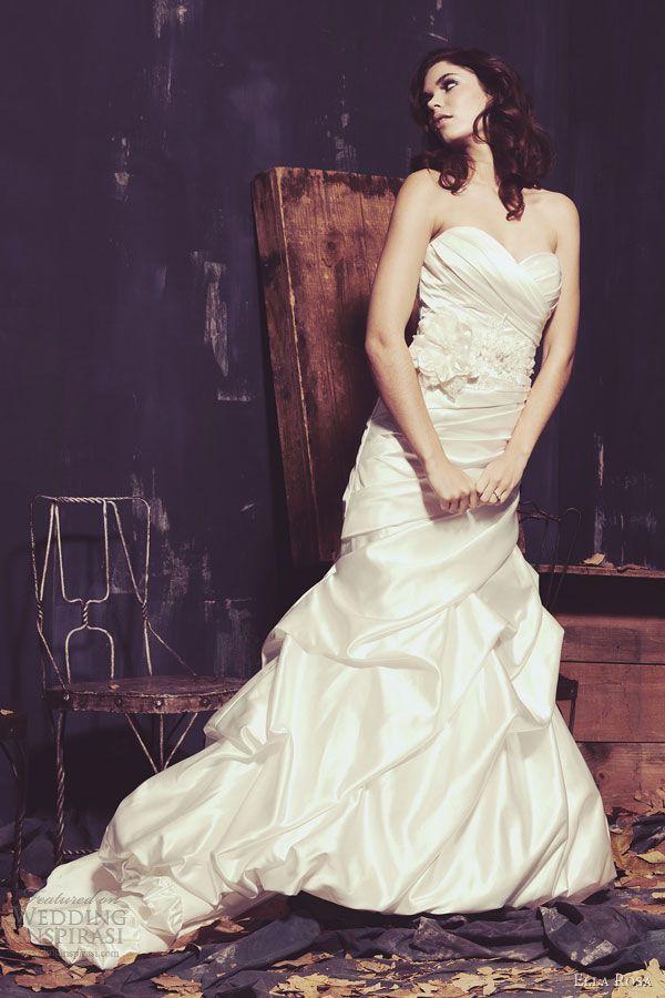 ella rosa spring 2013 wedding dress be 174 strapless gown