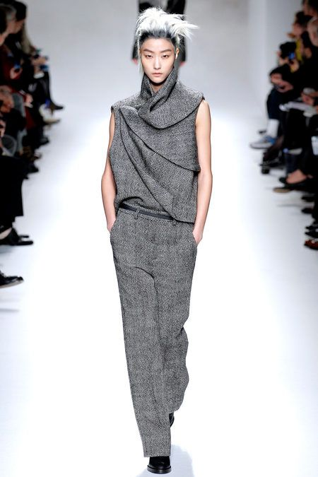 Haider Ackermann, thats pro status draping right there.