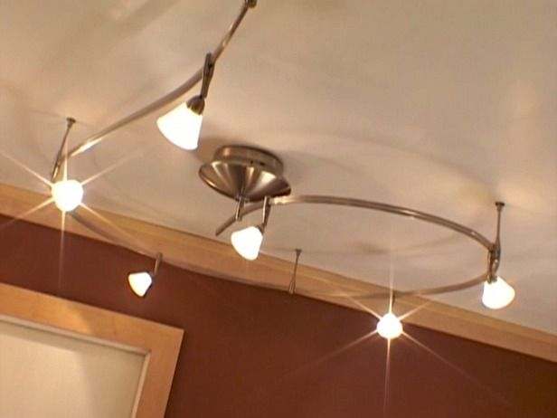 Installing Track Lighting In A Bathroom How To Diy