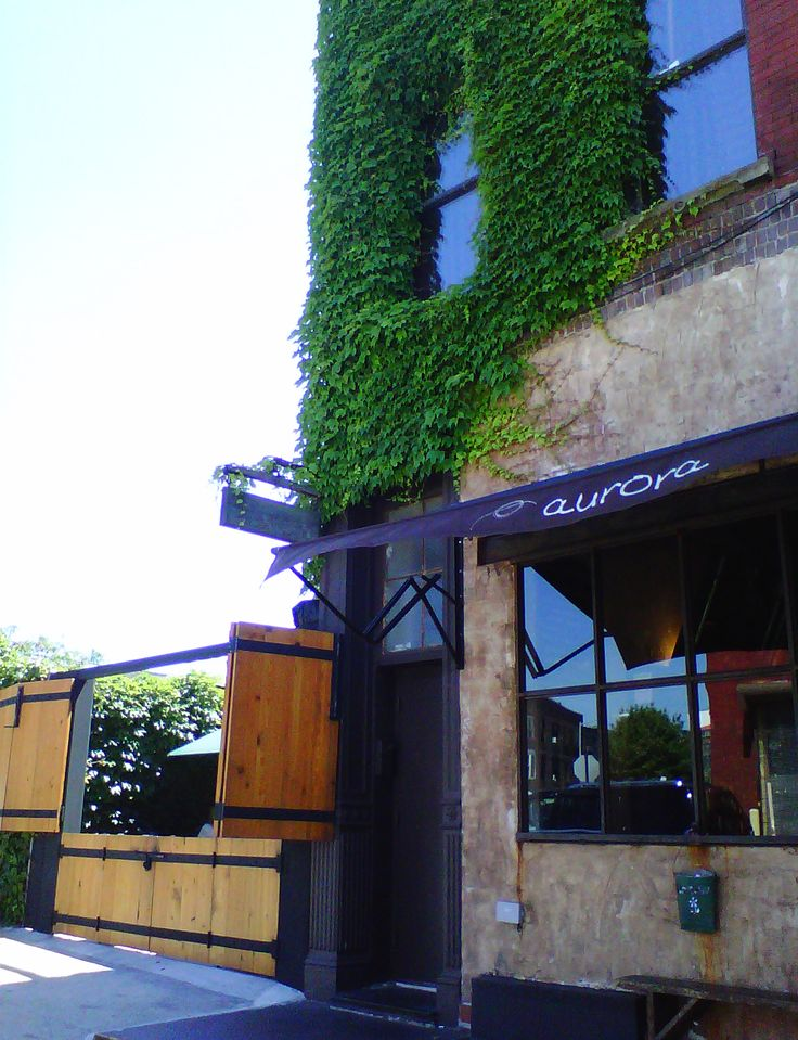 1000 images about aurora exterior on pinterest aurora for Aurora italian cuisine