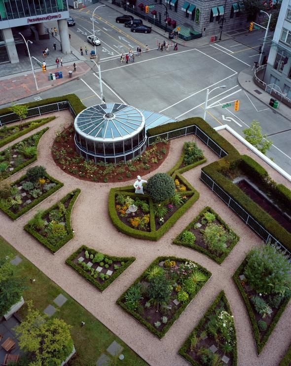 Picture of Green Roof Vegetable Garden, The Fairmont Waterfront Hotel Vancouver