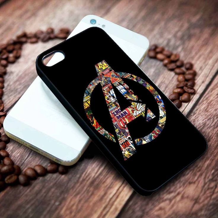 The Avengers Logo | Marvel | Movie | custom case for iphone 4/4s 5 5s 5c 6 6plus case and samsung galaxy s3 s4 s5 s6 case - RSBLVD