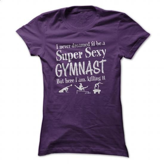 Gymnast - #cool hoodie #college sweatshirt. I WANT THIS => https://www.sunfrog.com/Sports/Gymnast-Purple-Ladies.html?60505