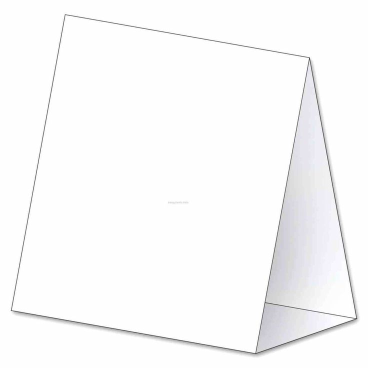 Tent Place Card Template 6 Per Sheet And About Cards On ...