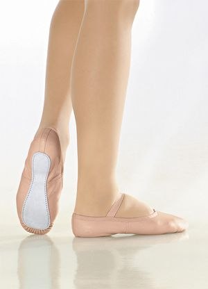 Soft ballet leather