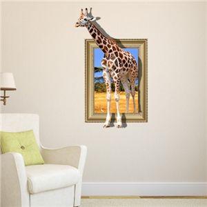 Cute D Wandtattoo Giraffe PVC Fototapete