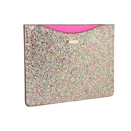 Amazing sparkling laptop case!!    Kate Spade New York Glitterball Tablet Sleeve Computer Bags - Multi