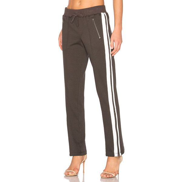 Pam & Gela Track Pant ($165) ❤ liked on Polyvore featuring activewear, activewear pants, pants and track pants