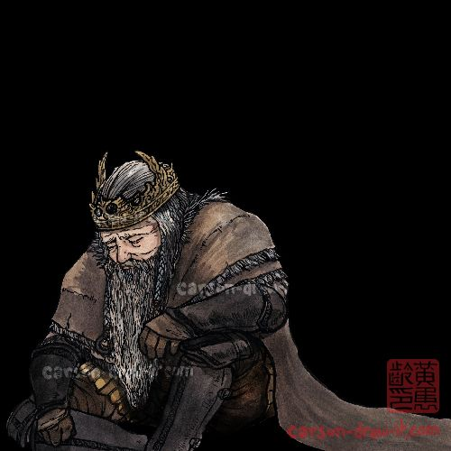 DARK SOULS 2 DOODLES  King Vendrick  –  Thank you vaatividya for featuring me once again in your video!! This time, It's King Vendrick for his DLC Ending Explained Video!  Check it out here:  https://www.youtube.com/watch?v=Su_0PnMRfiU