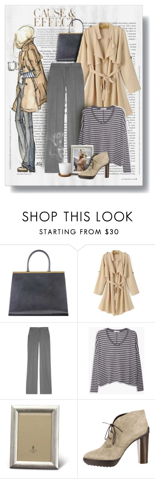 """""""Get the look - Rainy Day Style"""" by fashion-architect-style ❤ liked on Polyvore featuring Envi, STELLA McCARTNEY, MANGO, L'Objet, Tod's, Höganäs Ceramic, women's clothing, women's fashion, women and female"""