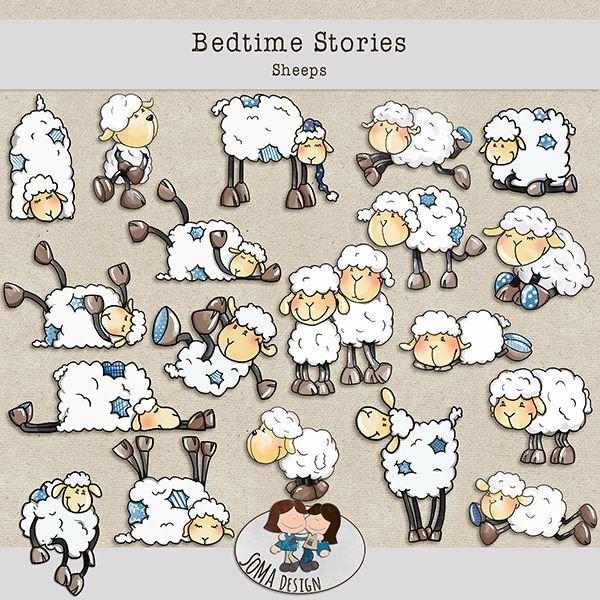 SoMa Design: Bedtime Stories - Sheeps
