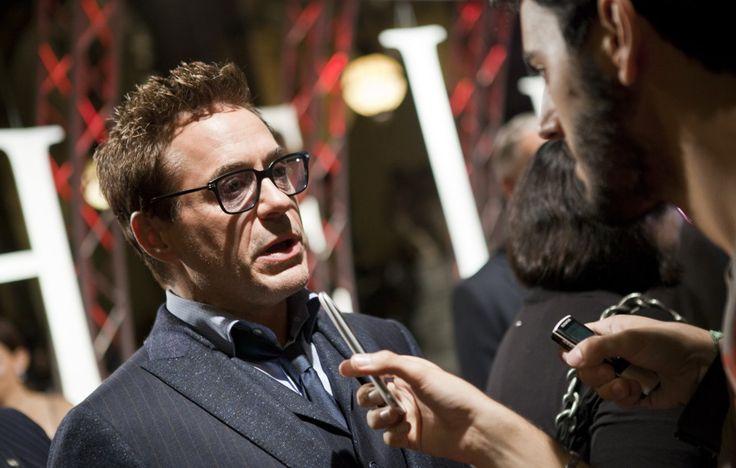 #RobertDowneyJr parla di #TheJudge alla premiere europea del film.
