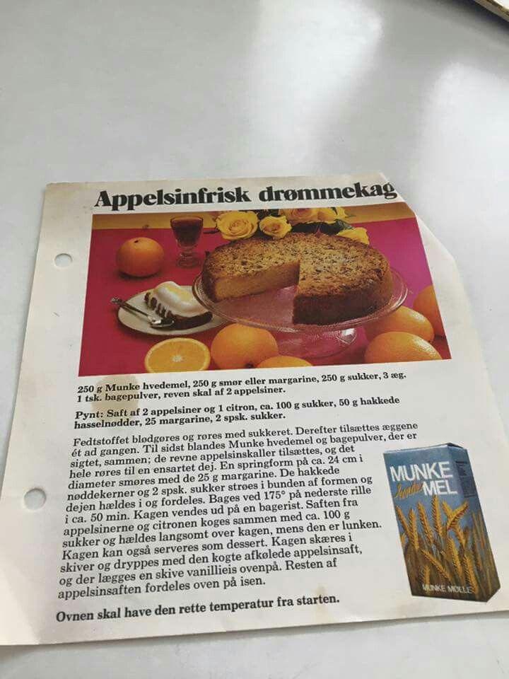 Appelsin kage