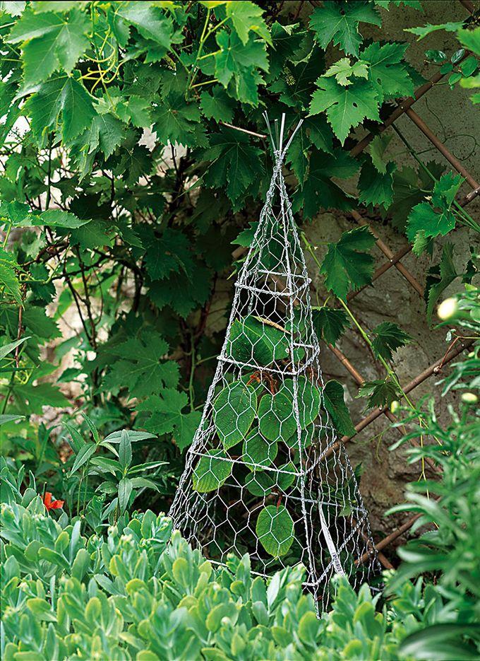 10 Idees Pour Fabriquer Un Tuteur De Jardin Tuteur Jardin