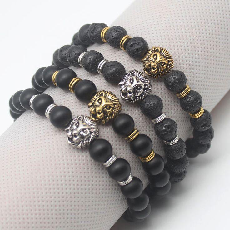 Unisex Bracelet, Lion bracelet, Lava, Mate, Bracelet, Handmade, Gift, Gifts, Xmas, Chritsmas, for men, for women, jewelry, etsy, store, sale, decoration, ideas, birthday, party, regalos