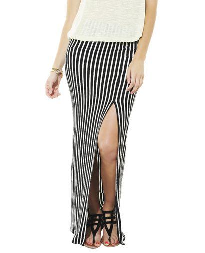 vertical stripe maxi skirt midi maxi skirts my style