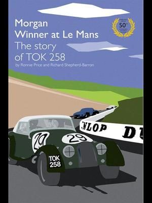 In 1962 a small Morgan sports car TOK258 created history by defeating factory teams run by leading international manufacturers in the famous 24 hour race at the Le Mans circuit. The car crossed the finishing line on Sunday 24th June having completed 2256 miles in the twenty four hours from the start time on Saturday afternoon to win the 2 litre GT class.